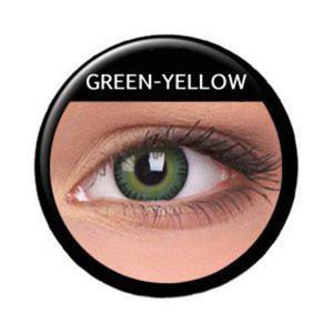 Soczewki Kolorowe ColourVue Fusion 2szt. - Yellow Green - 2822116669