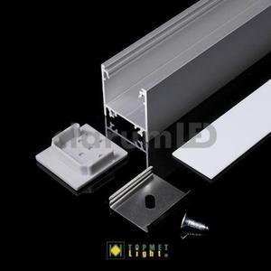 Zestaw LED LINEA20 - mleczny \ srebrny \ 1 m - 2835209827