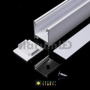 Zestaw LED LINEA20 - mleczny \ biały \ 1 m - 2835209833