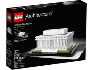 LEGO Architecture 21022 Mauzoleum Lincolna - 2833194206