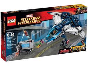 LEGO SuperHeroes 76032 Pościg Avengersów w Quinjecie - 2833194225