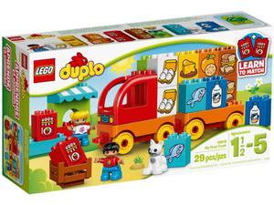 LEGO DUPLO 10818 Moja pierwsza ciężarówka - 2833194535