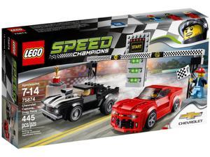 LEGO Speed Champions 75874 Chevrolet Camaro Drag Race - 2844929278