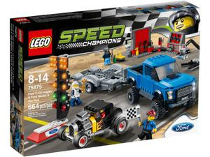 LEGO Speed Champions 75875 Ford F-150 Raptor i Ford Model A Hot Rod - 2833194755