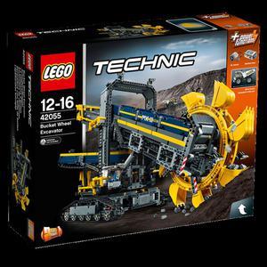 LEGO Technic 42055 Górnicza koparka kołowa - 2836217197