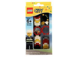 LEGO CITY 8020011 Zegarek strażak + figurka - 2836217201