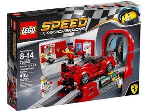 LEGO Speed Champions 75882 Ferrari FXX K i centrum techniczne - 2844627636