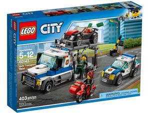 LEGO City 60143 Skok na transporter samochodów - 2844929298