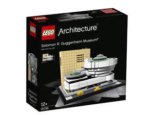 LEGO Architecture 21035 Muzeum Solomona R. Guggenheima - 2849887714