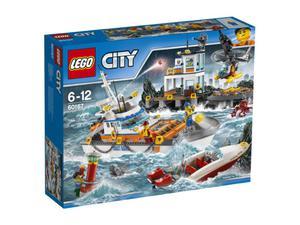 LEGO City 60167 Kwatera straży przybrzeżnej - 2849887757