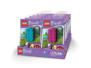 Brelok latarka LEGO Friends LGL-KE5F LED Key Light Klocek Lego 2x4 - 2833193698