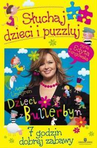 Dzieci z Bullerbyn. Słuchaj dzieci i puzzluj. Książka audio + puzzle - 2847901517