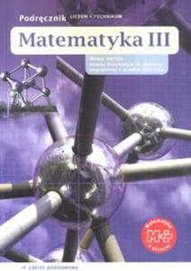 Matematyka kl.3 szk.śr-podręcznik - 2833194971