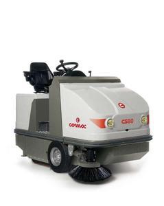 CS 80/90/110 B/D/LPG Comac komunalna psamojezdna duża zamiatarka przemysłowa bezpyłowa d - 2853186586
