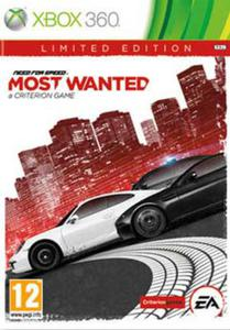 Need for Speed Most Wanted Edycja Limitowana Kinect PL XBOX 360 - 1613837402