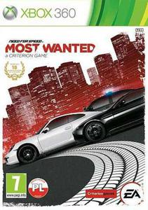 Need for Speed Most Wanted PL XBOX 360 - 1613837404