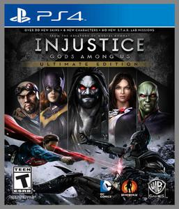 Injustice Gods Among US Ultimate Edition PL PS4 - 1613837531