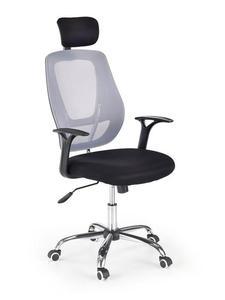 Fotel biurowy Apollo Halmar czarno-popielaty (V-CH-APOLLO-FOT) --- NAJTANIEJ W DECOFIRE!! ZAPYTAJ O OFERTĘ: 668-151-378 - 2822790057