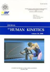 Journal of Human Kinetics volume 20, 2008 - 2824383214