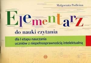 Elementarz do nauki czytania dla I etapu nauczania uczni - 2860970850