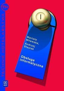 Obsługa informatyczna w hotelarstwie + płyta CD - 2824384436