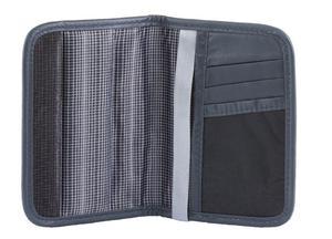 Portfel na paszport oraz karty zbliżeniowe RFID (ciemny szary) - Ciemny szary - 2844143779