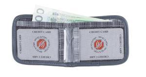 Mały portfelik na karty zbliżeniowe Metro (ciemny szary) - Ciemny szary - 2844143788