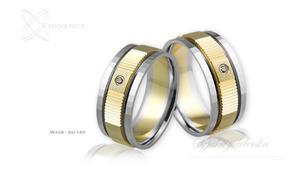 Obrączki ślubne - wzór Au-140 - 2827275202