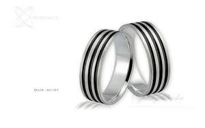 Obrączki ślubne - wzór Au-187 - 2827275237