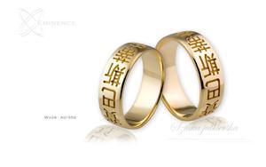 Obrączki ślubne - wzór Au-352 - 2827275375
