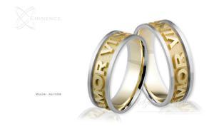 Obrączki ślubne - wzór Au-358 - 2827275379