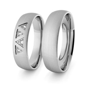 Obrączki srebrne klasyczne 5 mm - 53 - 2856187682