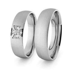 Obrączki srebrne klasyczne 5 mm - 55 - 2856187684