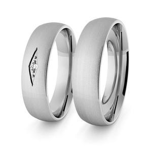 Obrączki srebrne klasyczne 5 mm - 56 - 2856187685