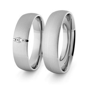 Obrączki srebrne klasyczne 5 mm - 57 - 2856187686