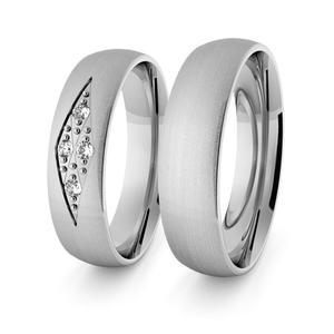 Obrączki srebrne klasyczne 5 mm - 58 - 2856187687