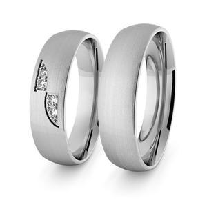 Obrączki srebrne klasyczne 5 mm - 60 - 2856187689