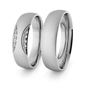 Obrączki srebrne klasyczne 5 mm - 61 - 2856187690