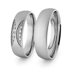 Obrączki srebrne klasyczne 5 mm - 62 - 2856187691