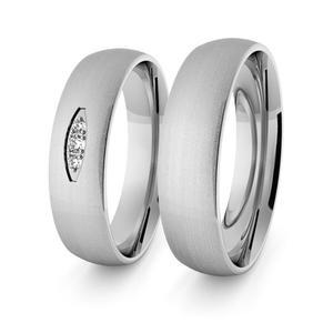Obrączki srebrne klasyczne 5 mm - 66 - 2856187695