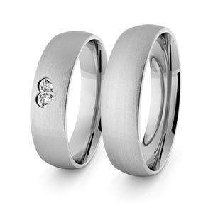 Obrączki srebrne klasyczne z sercem 5 mm - 72 - 2856187701