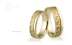 Obrączki ślubne - wzór Au-443 - 2827275459