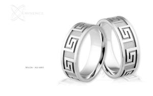 Obrączki ślubne - wzór Au-480 - 2827275493