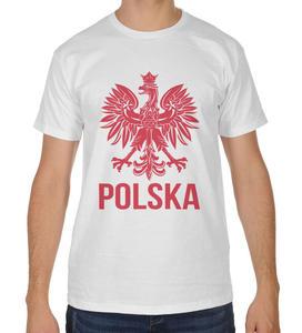 Koszulka kibica Reprezentacji Polski z orłem - 2868021269
