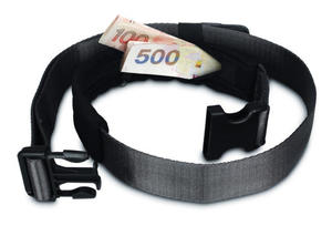 PacSafe Pasek ze schowkiem na pieni�dze Pacsafe CashSafe 25 - 2833124125
