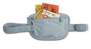 PacSafe Sekretny portfel do paska Coversafe 25 szary - 2833124131