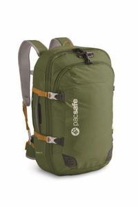 Plecak turystyczny antykradzieżowy oliwkowy Venturesafe 45L - 2833124177