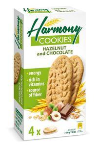 HARMONY 200g Hazelnut and Chocolate Ciastka - 2833124346