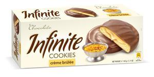 INFINITE 145g Creme Brulee Ciastka - 2833124351