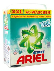 ARIEL 3,9kg Pulver XXL mit Febreze Tragepackung Proszek do prania 60 prań - 2833124496